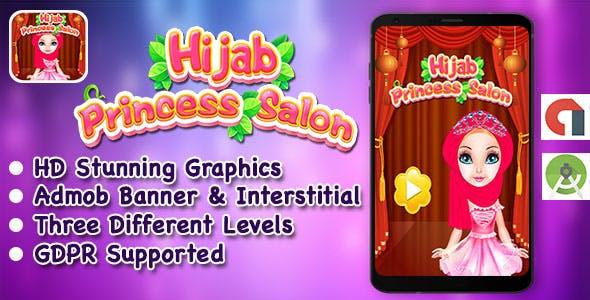 Hijab Princess Salon + Spa + Makeover + DressUp Game For Kids + GDPR + Android