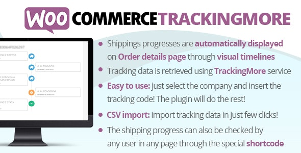 WooCommerce TrackingMore - CodeCanyon Item for Sale