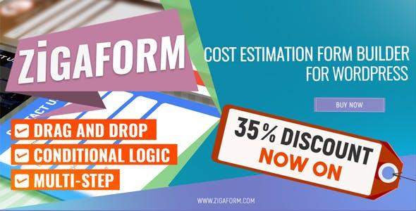 Zigaform - WordPress Calculator & Cost Estimation Form Builder