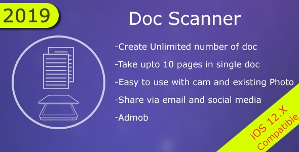 Doc Scanner - CodeCanyon Item for Sale