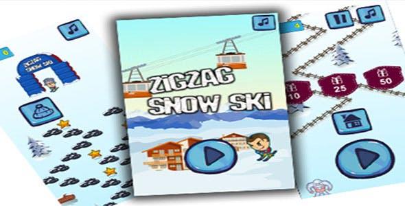 Snow Ski TAP-TAP Endless Run - CodeCanyon Item for Sale
