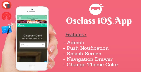 Osclass iOS App - CodeCanyon Item for Sale