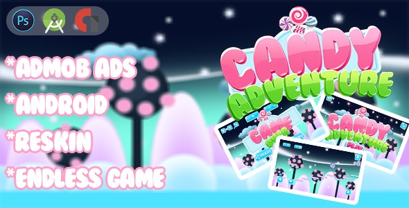 New Candy Adventure 2 Platform - CodeCanyon Item for Sale