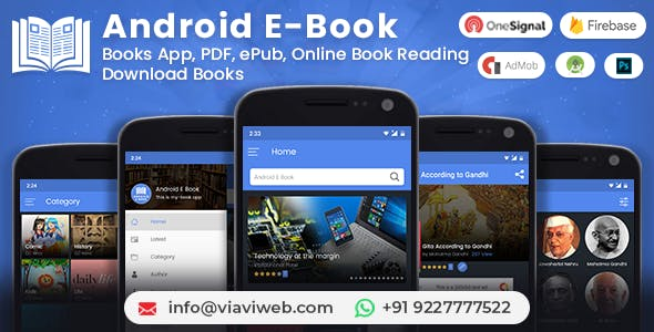 Offline Book Reader App Plugins, Code & Script from CodeCanyon