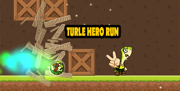 TURTLE HERO RUN - COMPLETE GAME