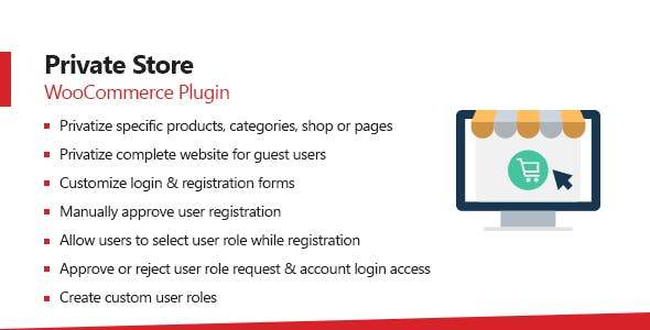 WooCommerce Private Store - Shop For Registered Users Plugin