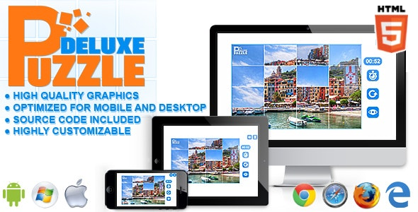 Puzzle Deluxe - HTML5 Games - CodeCanyon Item for Sale