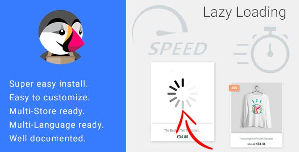 Lazy Load Images - Page Speed Optimization