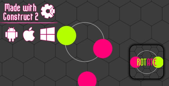 Rotate - HTML5 Game (CAPX)