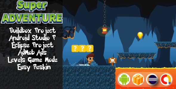 Super Adventure ( Android Project + Eclipse + Admob + Bbdoc )