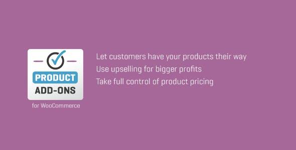 WooCommerce Custom Product Add-Ons