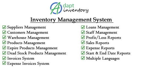 Adapt Inventory Management System by wp-mage | CodeCanyon