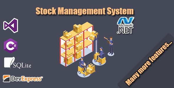 Stock Management System (.NET) - CodeCanyon Item for Sale