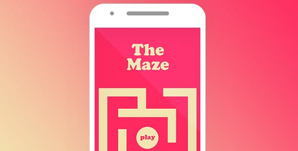 THE MAZE WITH ADMOB - ANDROID STUDIO & ECLIPSE FILE