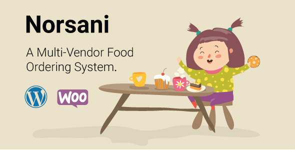 Norsani Multi-vendor food ordering system