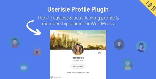 UserIsle - User Profile and Membership WordPress Plugin