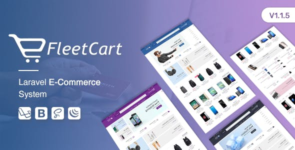 FleetCart - Laravel Ecommerce System