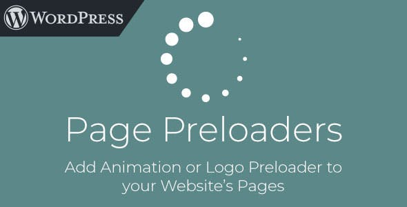 Page Preloaders - WordPress Plugin with Preload Animations