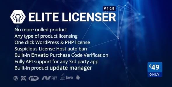 Elite Licenser- License Manager for Any Product