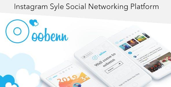 oobenn Instagram Style Social Networking Script