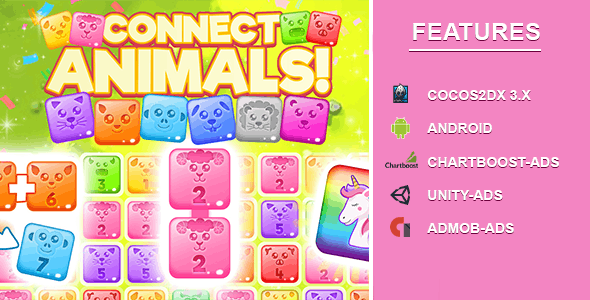 Connect And MergeAnimal [android]