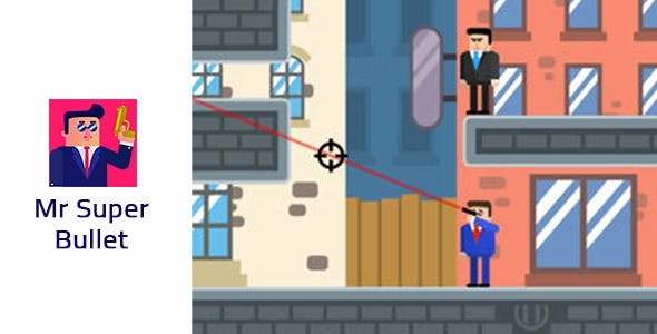 Mr Super Bullet : Spy Puzzles - Unity Game