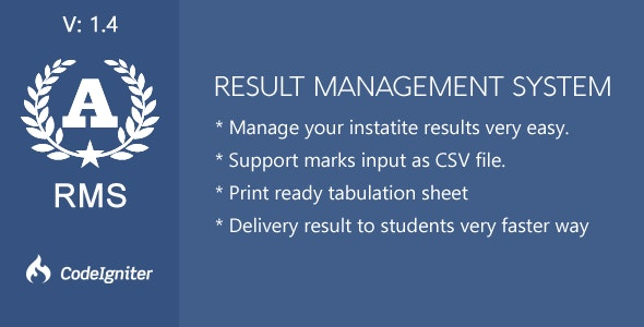 Result Management System by zwebtheme | CodeCanyon