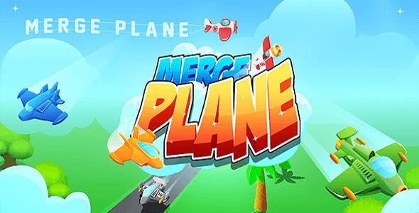 Merge Plane - Full Unity Complete Project with Admob