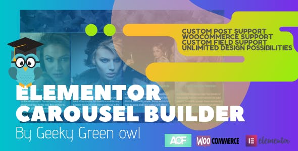 Elementor Post Carousel by Geeky Green Owl