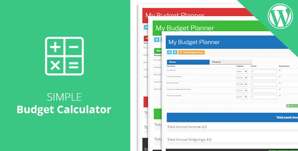 Monkey Budget Planner - CodeCanyon Item for Sale