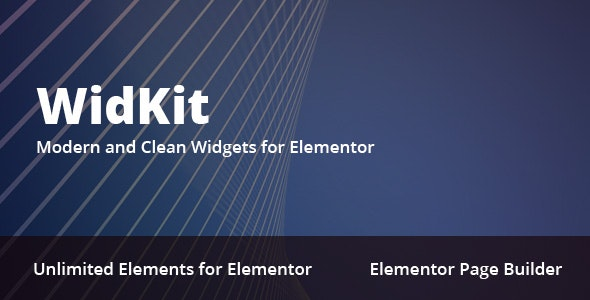 WidKit - Elementor Widgets Pack for WordPress - CodeCanyon Item for Sale