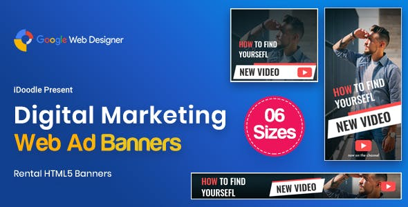Digital Marketting Banners GWD
