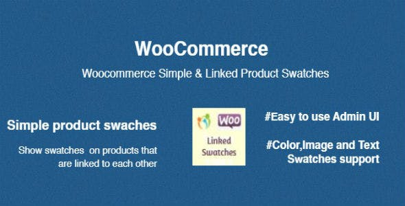 WooCommerce Simple & Linked Product Swatches