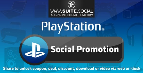 PlayStation Promotion: Sharer, Viral and Marketing Social Script