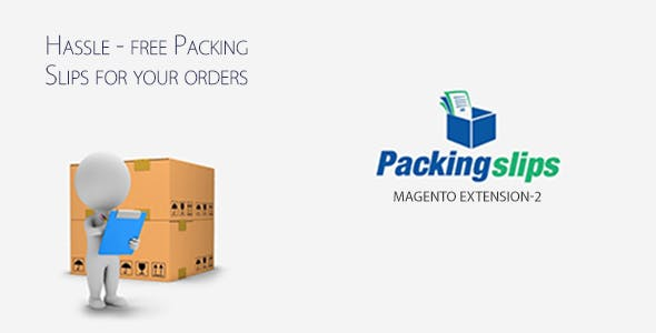 Pre Packing Slips - Magento 2