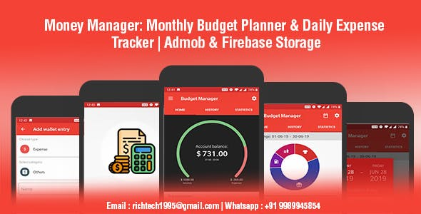 Make A Expenses App With Mobile App Templates from CodeCanyon