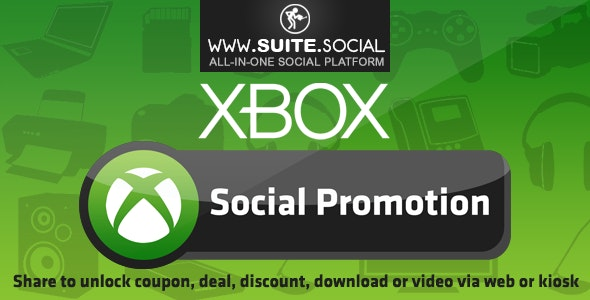 Xbox Promotion: Sharer, Viral and Marketing Social Script - CodeCanyon Item for Sale