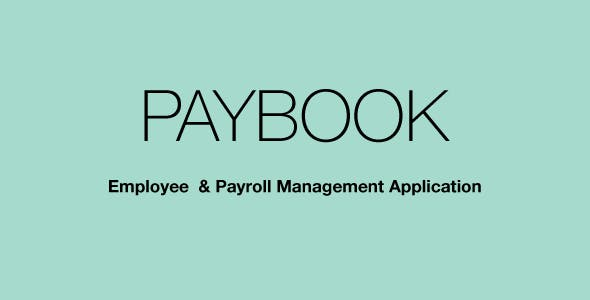 Paybook Payroll Manager
