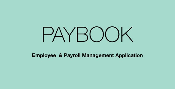 Paybook Payroll Manager - CodeCanyon Item for Sale