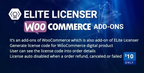 WooCommerce Product Licenser- Elite Licenser Pro Addon - CodeCanyon Item for Sale