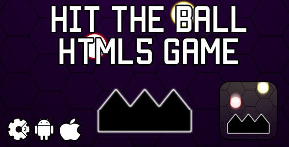 Hit The Ball - HTML5 Game (CAPX)