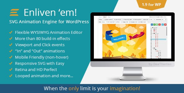 Enliven 'em! - SVG Animation Engine for WordPress
