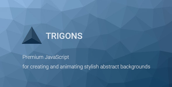 Trigons - Create and Animate Abstract SVG Images - CodeCanyon Item for Sale