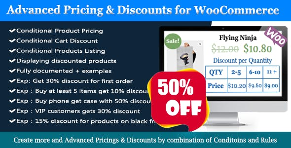 WooCommerce Dynamic Pricing & Discounts - Easy WooCommerce Discounts Pro