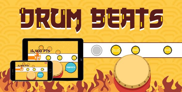 Drum Beats - HTML5 Game