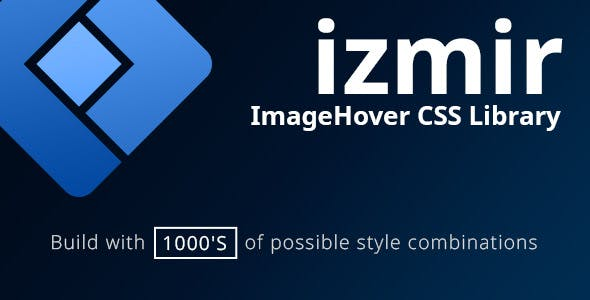 Izmir - ImageHover CSS Library