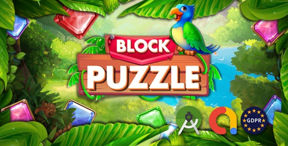 Block Puzzle (banner+inter+Rewarded Video) - CodeCanyon Item for Sale