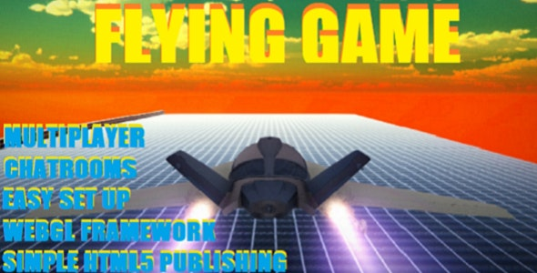 Multiplayer 3D Jet Flying Game (WebGL and HTML5 by