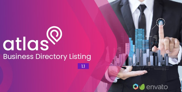 Atlas Business Directory Listing - CodeCanyon Item for Sale