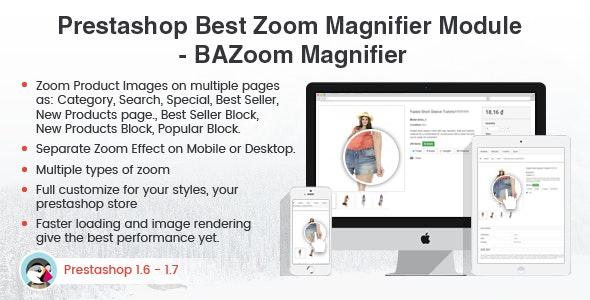 Prestashop Magic Zoom Magnifier Effect Plus Module – Prestips - CodeCanyon Item for Sale